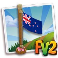 New Zealand Flag Pole