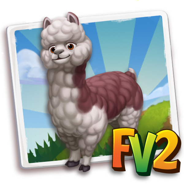 All free Farmville2 alpaca adult chileanbrown 600.png gifts