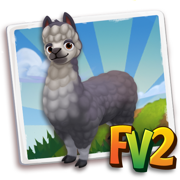 All free Farmville2 alpaca adult huacayablackandwhite 600.png gifts