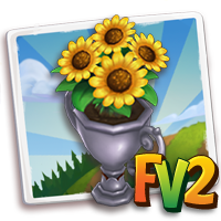 Trophy Flower Pot