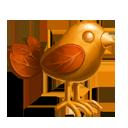 Metal Leaf Bird