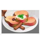 Braised Warden Pears Mascarpone