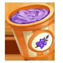 Hyssop Blueberry Ice Cream