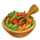 Capsicum Hunziker and Orange Salad