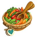 Heirloom Capsicum Hunziker and Orange Salad