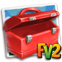 questing toolbox red empty